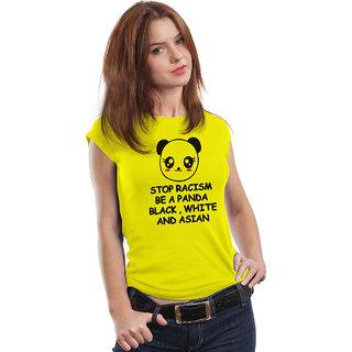 Be a Panda Cartoon FanArt Quality Female Casual T-shirt