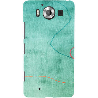 ifasho Animated Pattern colrful 3Daditional design cloth pattern Back Case Cover for Nokia Lumia 950