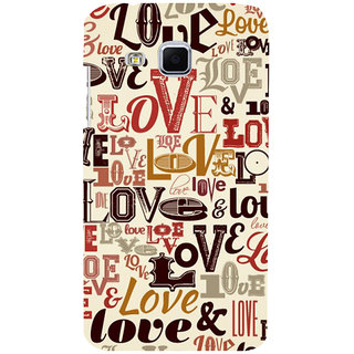 ifasho Love pattern Back Case Cover for Samsung Galaxy J3