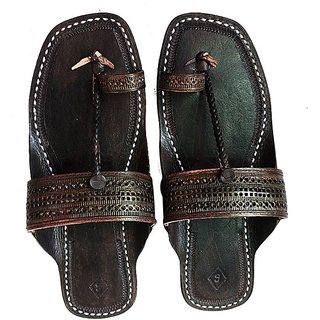 Dark Brown Handmade and Attractive Leather Sandal