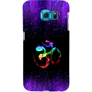 ifasho Om animated design Back Case Cover for Samsung Galaxy S6 Edge Plus
