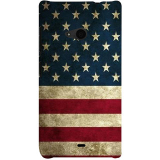 ifasho Coun3Dy Flag on wooden background Back Case Cover for Nokia Lumia 535
