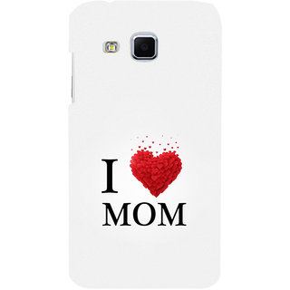 ifasho Love Quotes I love mom Back Case Cover for Samsung Galaxy J3