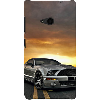 ifasho Wow car Back Case Cover for Nokia Lumia 535