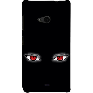 ifasho Cartoon Eyes Back Case Cover for Nokia Lumia 535