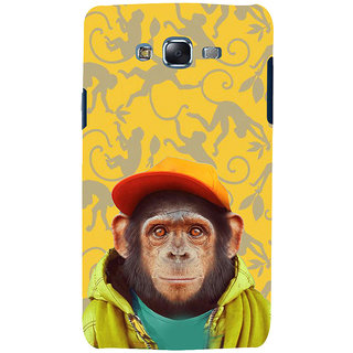 ifasho Monkey with red cap Back Case Cover for Samsung Galaxy J7