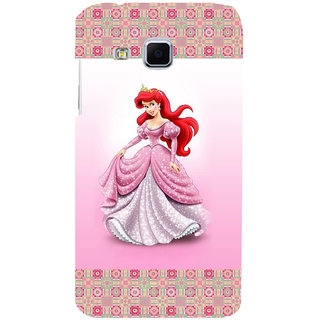 ifasho Princess Back Case Cover for Samsung Galaxy J3