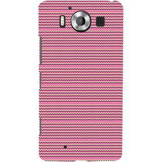 ifasho Animated Pattern of pink lining pattern Back Case Cover for Nokia Lumia 950