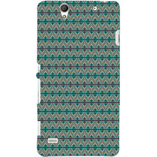 ifasho Animated Pattern colrful 3Dibal design Back Case Cover for Sony Xperia C4