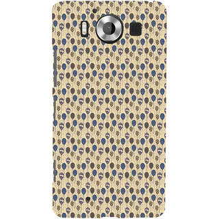 ifasho Animated  Balloon Back Case Cover for Nokia Lumia 950