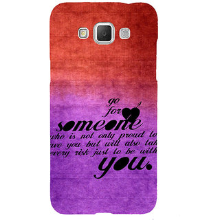 ifasho Love Quote Back Case Cover for Samsung Galaxy Grand3