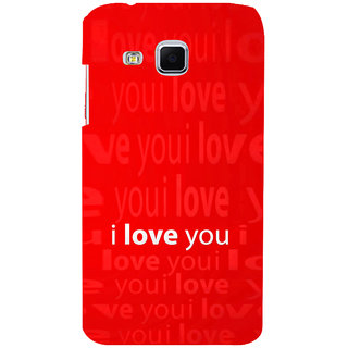 ifasho Love Quotes I love you Back Case Cover for Samsung Galaxy J3