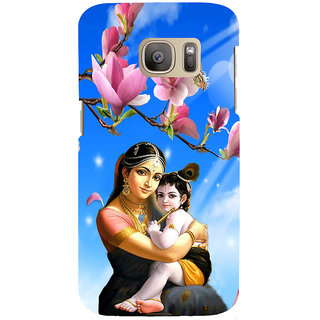ifasho Yasoda krishna Back Case Cover for Samsung Galaxy S7 Edge