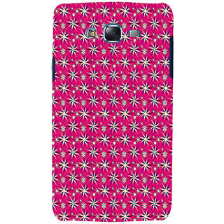 ifasho Pattern green white and red animated flower design Back Case Cover for Samsung Galaxy J7 (2016)