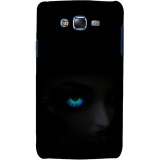 ifasho Girl with shining eyes Back Case Cover for Samsung Galaxy J7