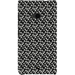 ifasho Modern Art Design animated cloth Pattern of small flower Back Case Cover for Nokia Lumia 535