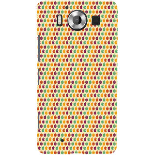 ifasho Animated Pattern design many small apple Back Case Cover for Nokia Lumia 950