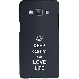 ifasho Nice Quote On Keep Calm Back Case Cover for Samsung Galaxy A7