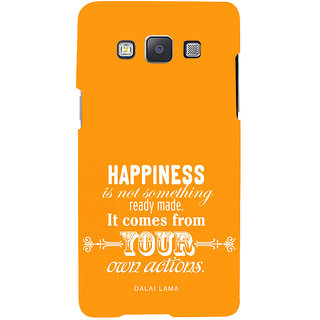 ifasho Faith  Quote on happiness Back Case Cover for Samsung Galaxy A7