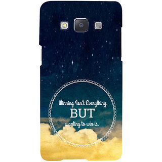 ifasho Life quote Back Case Cover for Samsung Galaxy A7