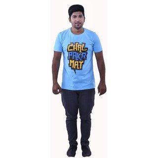 Oneliner Men's Cotton T-Shirt (OSMT126-2XL-$P)