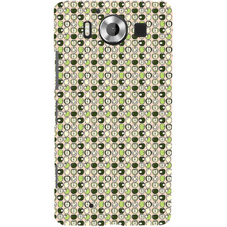 ifasho Animated Pattern design many small apple full and half Back Case Cover for Nokia Lumia 950