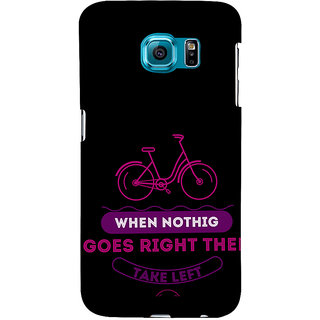 ifasho Right and Wrong Quote Back Case Cover for Samsung Galaxy S6