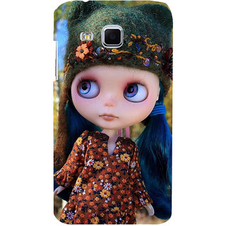 ifasho Cute Girl Back Case Cover for Samsung Galaxy J3
