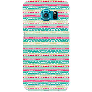 ifasho Animated Pattern colrful 3Dibal design Back Case Cover for Samsung Galaxy S6 Edge Plus