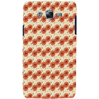 ifasho Modern Art Design animated cloth Pattern of flower Back Case Cover for Samsung Galaxy J7 (2016)