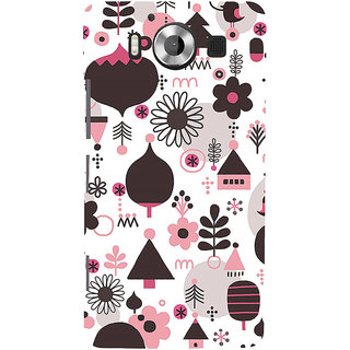 ifasho Animated Pattern colrful 3Dibal design cartoon flower Back Case Cover for Nokia Lumia 950
