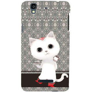 ifasho Winking and Dancing  Cat Back Case Cover for YU Yurekha