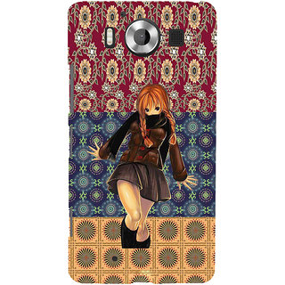ifasho Dancing girl Back Case Cover for Nokia Lumia 950