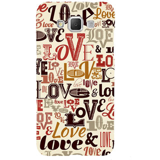 ifasho Love pattern Back Case Cover for Samsung Galaxy Grand3