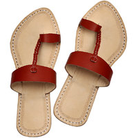 Radish Brown Attractive Ladies Chappal For Ladies