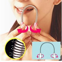 Facial hair remover spring 2 PIECES  for 2 people AND SAME DAY SHIPPING