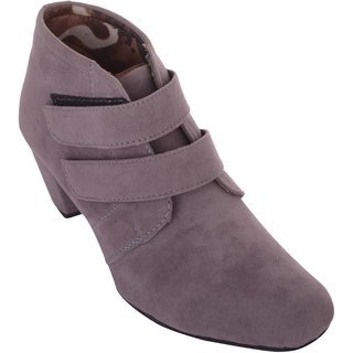 Exotique Womens Grey Casual Boot(EL0031GY)