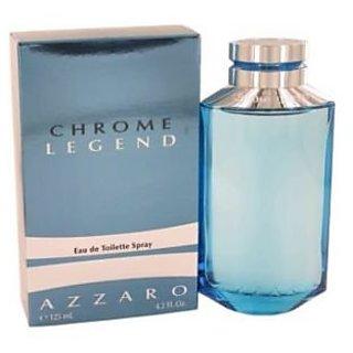 Azzaro Chrome Legend Eau de Toilette Spray for Men, 4.2 Fluid Ounce