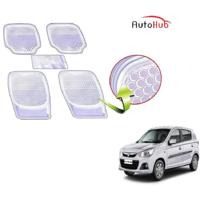 Auto Hub 3G Honey Clear Car Foot Mats For - Maruti Suzuki Alto K10 - By AS Traders