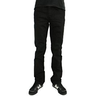 Lee Marc Black Mid Rise Regular Fit Jeans For Men