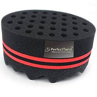 Best Curl Sponge Hair Brush For Twists And Coils/ For Dreads & Afros By Perfect Twist *TWO IN ONE Special*