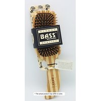 Brush - Semi S Shaped Wood Handle & Wood Bristles Bass Brushes 1 Brush