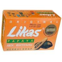 Likas Papaya Herbal Soap Skin Whitening Soap AMZ0001 1Pc