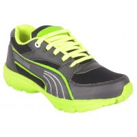 Woakers Boys Kick Start Green Sports Shoes