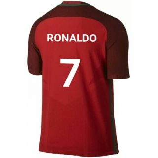 Red color cr7 Portugal Jersey