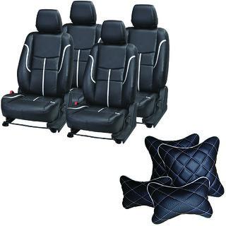 Pegasus Premium Seat Cover for Tata Indigo CS  With Neck Rest And Pillow/Cushion