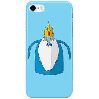 Dreambolic Ice-King,-Adventure-Time Back Cover for Apple iPhone 7