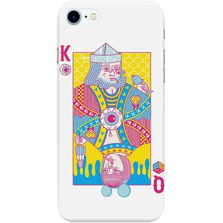 Dreambolic King-of-Nothing,-Queen-of-Nowhere Back Cover for Apple iPhone 7