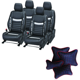 Pegasus Premium Seat Cover for Maruti Zen Estilo  With Neck Rest And Pillow/Cushion