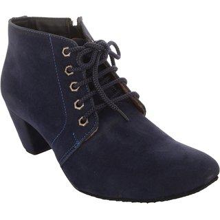 Exotique Womens Blue Casual Boot (EL0040BL)